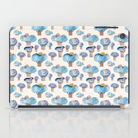 thousands of little blue trees iPad Case