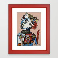 Dispositionism Framed Art Print