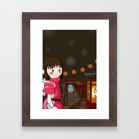 Spirited  Framed Art Print