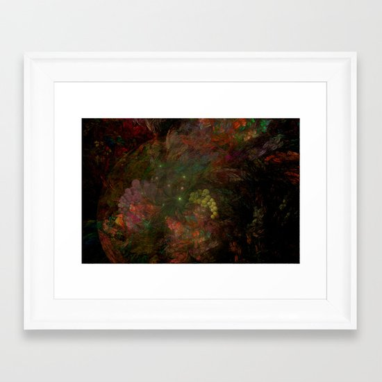 Opulence Framed Art Print