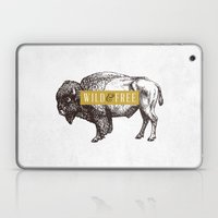 Wild & Free (Bison) Laptop & iPad Skin