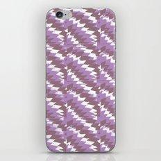Purple Pattern Print iPhone & iPod Skin