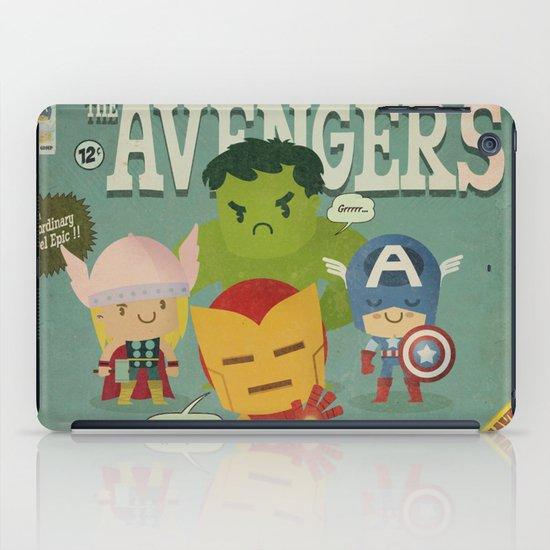 avengers fan art iPad Case