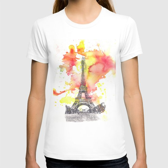 Eiffel Tower in Paris France T-shirt