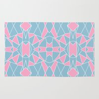 Abstraction Pink #2 Rug