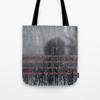 I Was Looking Tote Bag