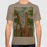 Florida Mens Fitted Tee Tri-Coffee SMALL