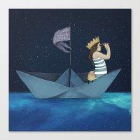 Night Adventure  Canvas Print