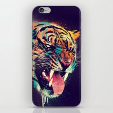 FEROCIOUS TIGER iPhone & iPod Skin