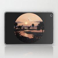 Jurassic Beach Laptop & iPad Skin