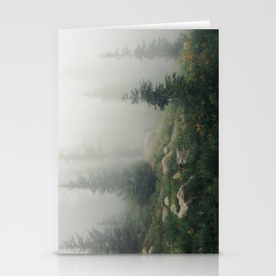 Mt Hood National Forest Stationery Card