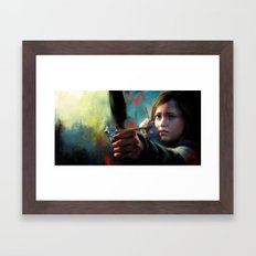 The Last Of Us: Ellie Framed Art Print