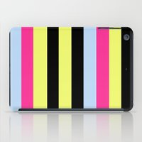 Bertie Bassett Stripes Pattern iPad Case