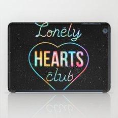 Lonely hearts club iPad Case