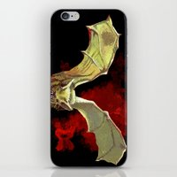 Bat Flight iPhone & iPod Skin