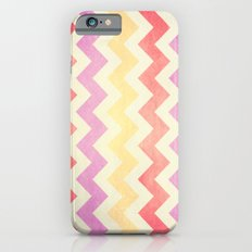 Crazy for Chevron - Vintage Pink Slim Case iPhone 6s