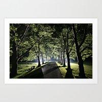 Tree Line Art Print