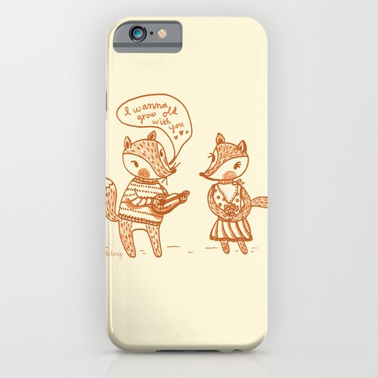 Grow Old With You Foxes iPhone & iPod Case