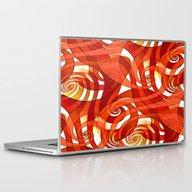 That's How I Whirl (oran… Laptop & iPad Skin