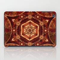 Meditation in Copper iPad Case