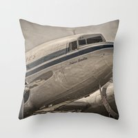 Douglas DC-3 Dakota Throw Pillow