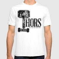 Thors Pet Shop Mens Fitted Tee White SMALL