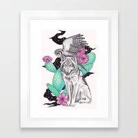 Allies Framed Art Print