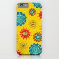 Psycho Flower Gold iPhone 6 Slim Case