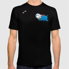 Spacedoggy SMALL Mens Fitted Tee Black