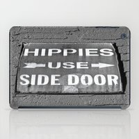 Hippies Use Side Door iPad Case
