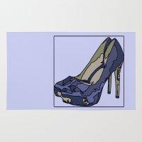 Blue sweet shoe -or....? Rug