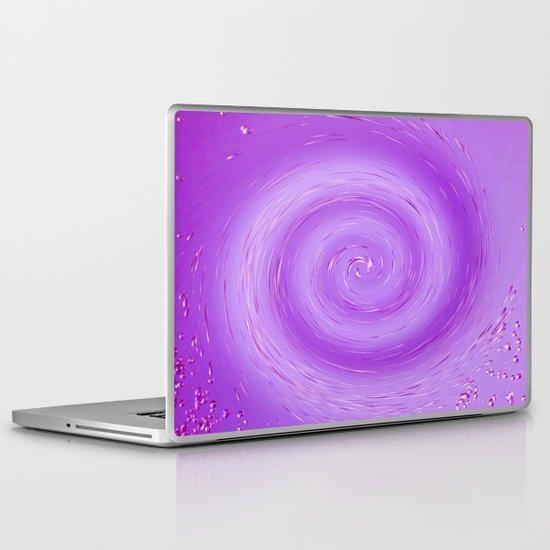 Red whirlpool Laptop & iPad Skin