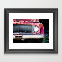 The Grill Framed Art Print