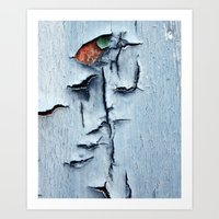 Blue Ridges Art Print