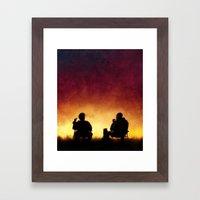 4 Days Out Framed Art Print
