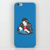 The Curious Case Of A Ba… iPhone & iPod Skin
