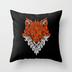 Firefox Throw Pillow