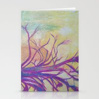 Abstract Landscape II Stationery Cards