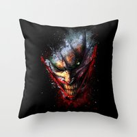 Madness Is The Emergency… Throw Pillow