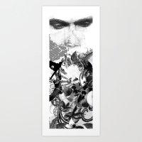 Mingasim // male Art Print