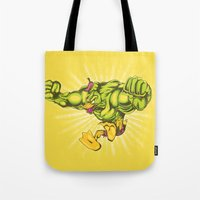 You wouldn't like me when I'm angry. Tote Bag