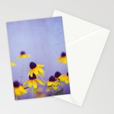 Lilac and Yellow Stationery Cards
