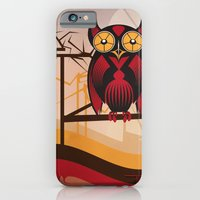 Red Owl At Dusk iPhone 6 Slim Case