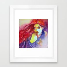 Non lasciarmi sola Framed Art Print