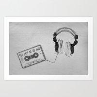Music, please! Art Print