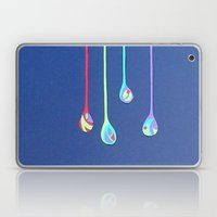 Jewel Drops Papercut Laptop & iPad Skin