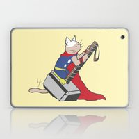 The Catty Thor Laptop & iPad Skin