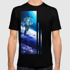 Ornithopter Mens Fitted Tee SMALL Black
