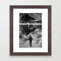Black & White Collection -- Wandering Framed Art Print