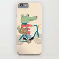 iPhone Cases featuring Croc by Kathrin Legg